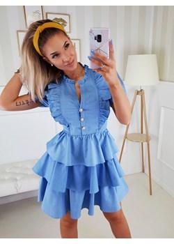Sukienka Andzela Jeans  Fashionyou  - kod rabatowy