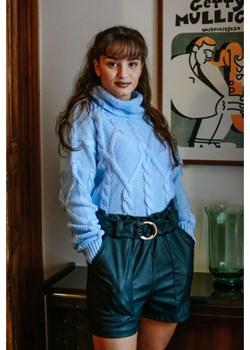 Sweter Velvet Blue Olivkabutik.pl  okazja olivkabutik  - kod rabatowy