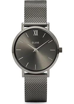Zegarek CLUSE Minuit Mesh Dark Grey  CW0101203025 (  CL30067 ) Cluse  okazja TimeandMore  - kod rabatowy