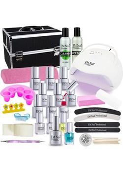 Zestaw hybrydowy PREMIUM lampa UV LED Eclipse 48W  Em Nail Professional okazyjna cena em-nail.pl  - kod rabatowy