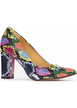 Kolorowe, skórzane czółenka Lewski  Lewski shoes - kod rabatowy