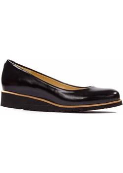 MIĘKKIE, WYGODNE, CZARNE BALERINY Lewski  wyprzedaż Lewski shoes  - kod rabatowy