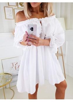 Tunika Dolly Biała Fashionyou   - kod rabatowy