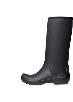Kalosze Crocs Rainfloe Tall Boot Black 203416-001 Crocs wyprzedaż saleneo.pl - kod rabatowy