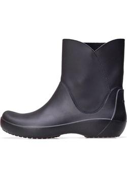 Kalosze Crocs Rainfloe Bootie Black 203417-001 Crocs saleneo.pl - kod rabatowy