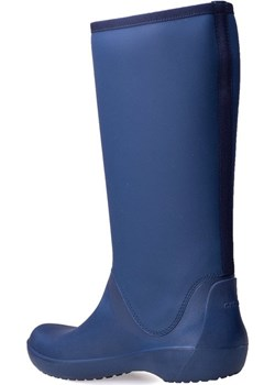 Kalosze Crocs Rainfloe Tall Boot Navy 203416-410 Crocs okazja saleneo.pl - kod rabatowy