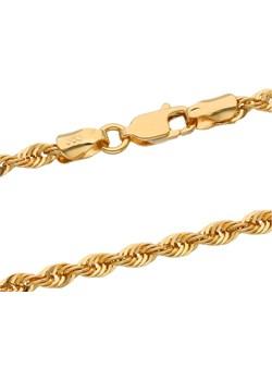 złoty damski łańcuszek kordel 42 cm Irbis.style irbis.style - kod rabatowy
