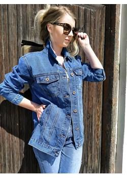 Kurtka jeansowa oversize   fagobutik.pl - kod rabatowy