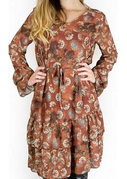 Sukienka Dafia bricky Angella  wyprzedaż manumo  - kod rabatowy