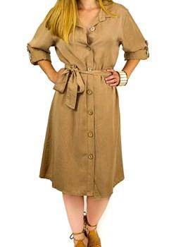 Sukienka Farla carmel  Sylmar Fashion manumo - kod rabatowy