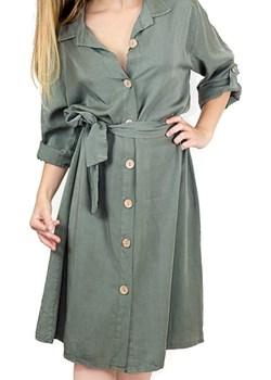 Sukienka Farla khaki  Sylmar Fashion manumo - kod rabatowy