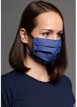 1554 Bawełniana maska Classic  Granatowy Bawełna 100%   MASKKA - kod rabatowy