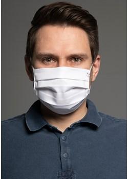1538 Bawełniana maska Classic Biały Bawełna 100%   MASKKA - kod rabatowy