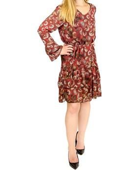 Sukienka Dafia bordo  Angella wyprzedaż manumo  - kod rabatowy