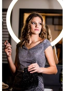 Długa sukienka wieczorowa Shakira - silver - BB Studio B&b Studio wyprzedaż B&B Studio - kod rabatowy