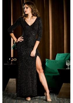 Sukienka wieczorowa Marcelina - ciemny brąz - BB Studio B&b Studio B&B Studio - kod rabatowy