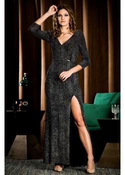 Sukienka wieczorowa Marcelina - geometria - BB Studio B&b Studio okazja B&B Studio - kod rabatowy