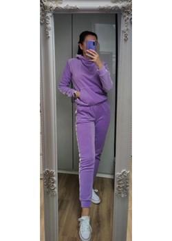 Spodnie welurowe Lilac Olivkabutik.pl olivkabutik - kod rabatowy