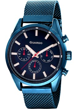 Zegarek Męski Guardo Premium 11661-5 Guardo  ChronoFashion.pl - kod rabatowy