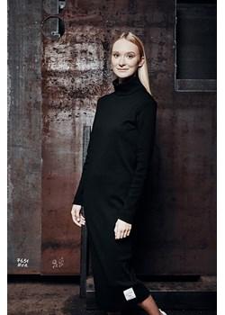 RIB DRESS Black XS okazyjna cena DISMISSED - kod rabatowy