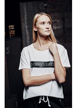 CLASSIC SHORT T-SHIRT White XS okazja DISMISSED - kod rabatowy