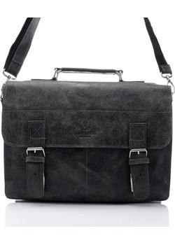 Elegancka torba skórzana Paolo Peruzzi w 4 kolorach 004TM-PP supergalanteria-pl czarny na ramię - kod rabatowy