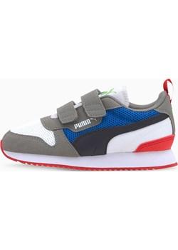 PUMA Dziecięce Buty Sportowe R78, Czarny / Biały / Szary, rozmiar 27,5, Obuwie Puma PUMA EU - kod rabatowy