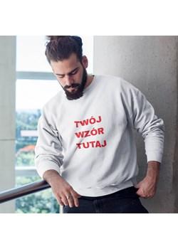 Sweatshirt unisex z własnym nadrukiem   wyprzedaż Do The Wear  - kod rabatowy