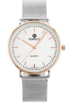ZEGAREK DAMSKI PERFECT G508 (zp906c) - Srebrny  Perfect TAYMA - kod rabatowy
