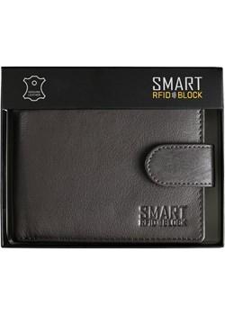 Portfel męski na zamek z ochroną RFID (brązowy)  SM-907GBR  Koruma Koruma ID Protection - kod rabatowy