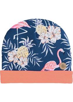 Czapka granatowa we flamingi Tuszyte okazyjna cena TuSzyte - kod rabatowy