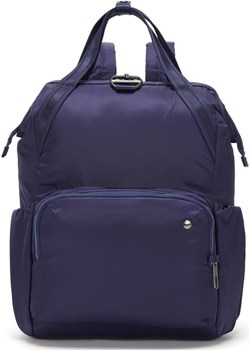 Plecak damski antykradzieżowy Pacsafe Citysafe CX 17L Night Fall  Pacsafe promocyjna cena evertrek  - kod rabatowy