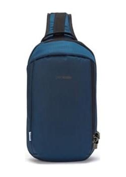Plecak jednoramienny antykradzieżowy Pacsafe Vibe 325 ECONYL Ocean Pacsafe  promocyjna cena evertrek  - kod rabatowy