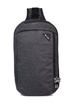 Plecak jednoramienny antykradzieżowy Pacsafe Vibe 325 Grafitowy melange Pacsafe  promocyjna cena evertrek  - kod rabatowy