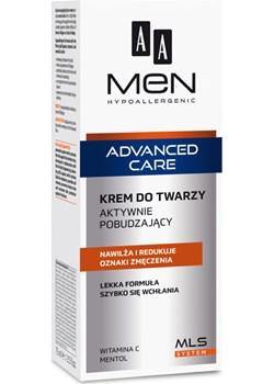 AA Men Advanced Care krem do twarzy aktywnie pobudzający 75 ml  Oceanic Oceanic_SA - kod rabatowy