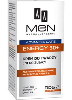 AA Men Advanced Care energy 30+ krem do twarzy energizujący 50 ml Oceanic  Oceanic_SA - kod rabatowy