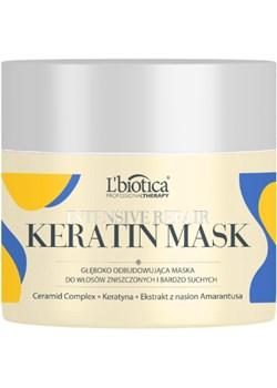 L'BIOTICA Professional Therapy Intensive Repair Keratin Mask- 200 ml L'Biotica  Oceanic_SA - kod rabatowy
