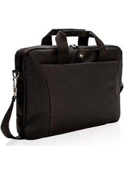 """Swiss Peak 15.4"""" torba na laptop czarna Swiss Peak  ProSpot.pl - kod rabatowy"""