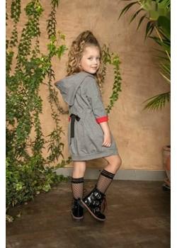 Tunika dla dziewczynki od MałaMi z Napisem WHY  Małami okazyjna cena mini-elegancja.eu  - kod rabatowy
