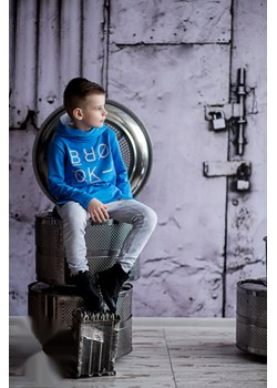 ALL FOR KID'S - Bluza z kapturem - niebieska All For Kids  promocyjna cena mini-elegancja.eu  - kod rabatowy