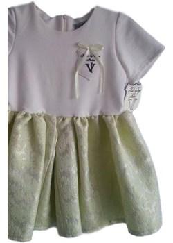 Elegancka dziewczęca Sukienka Ecry  od Kid's by Voga  Kids By Voga okazyjna cena mini-elegancja.eu  - kod rabatowy