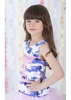 Tunika Moro dla dziewczynki z literką A od MałaMi Małami  wyprzedaż mini-elegancja.eu  - kod rabatowy