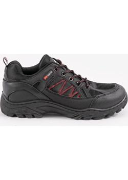 Czarne sportowe obuwie trekkingowe HL-1831B okazja gemre - kod rabatowy