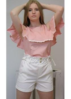 Bluzka damska AURORA - brzoskwiniowy ALLEMODA - kod rabatowy