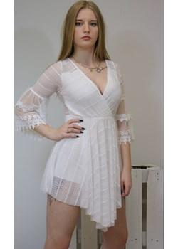 Kombinezon damski MAGIC - biały ALLEMODA - kod rabatowy