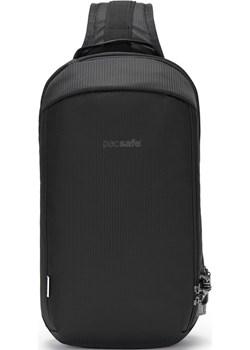 Plecak jednoramienny antykradzieżowy Pacsafe Vibe 325 Econyl Black Pacsafe wyprzedaż evertrek - kod rabatowy