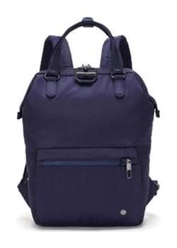 Plecak damski antykradzieżowy Pacsafe Citysafe CX Mini Backpack Night Fall Pacsafe wyprzedaż evertrek - kod rabatowy