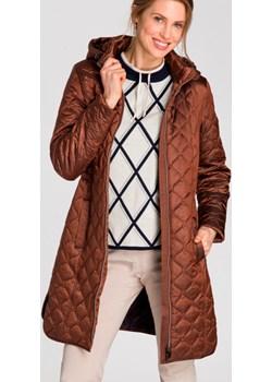 Pikowana kurtka zapinana na suwak Boho Vibes OUT 15101317 Miedziany 38 Olsen Olsen - kod rabatowy