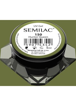 150 Kolorowy lakier żelowy Semilac Hunter Queen 5ml Semilac SEMILAC - kod rabatowy
