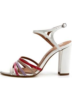 Letnie sandałki z kolorowymi paskami Blavet Victoria Gotti ® okazja Victoria Gotti - kod rabatowy